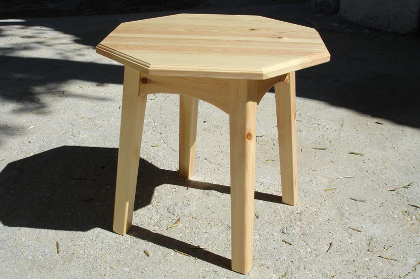 You are currently viewing Octagonal pine table